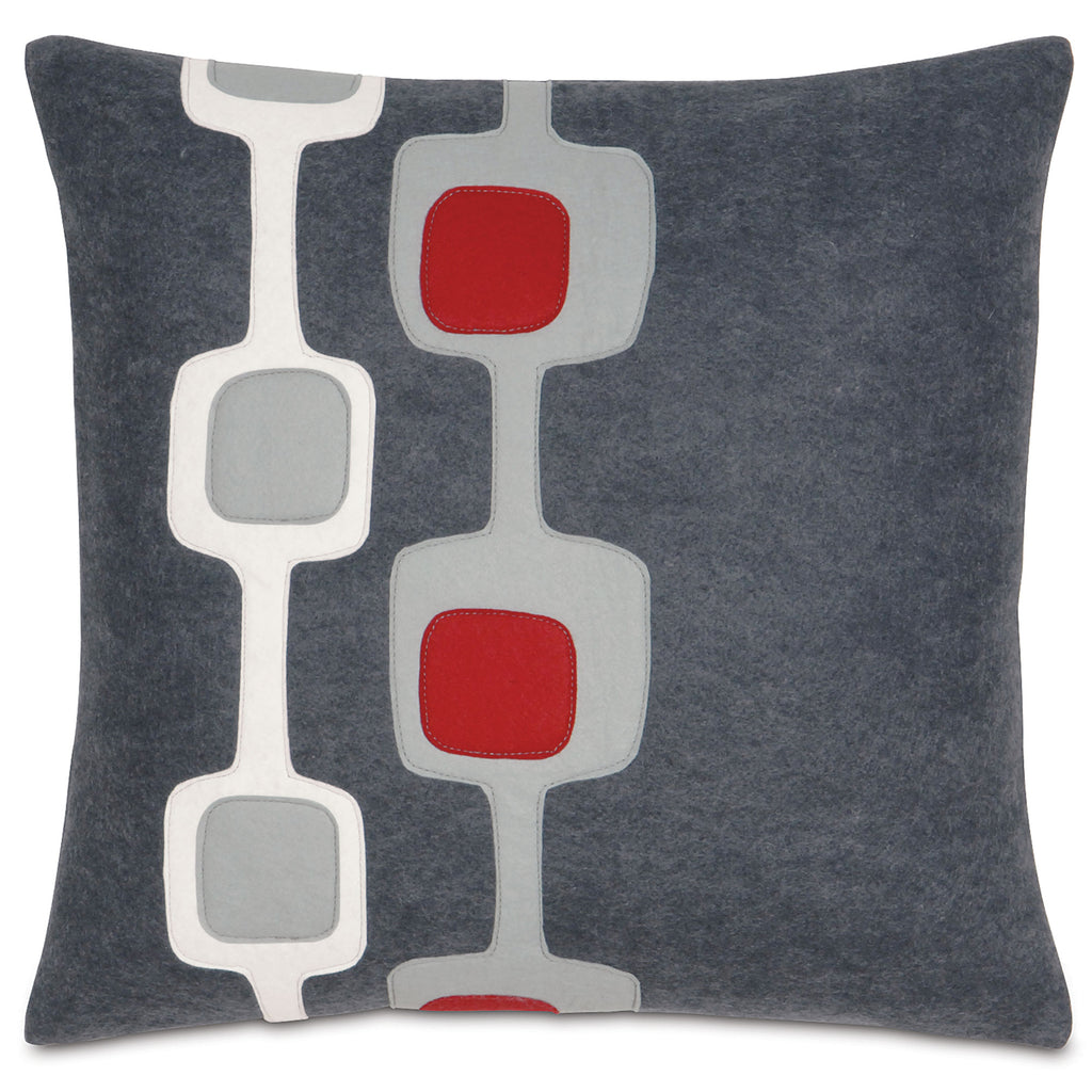 "Rockin' Retro Decorative Pillow Cover 18"" x 18"""