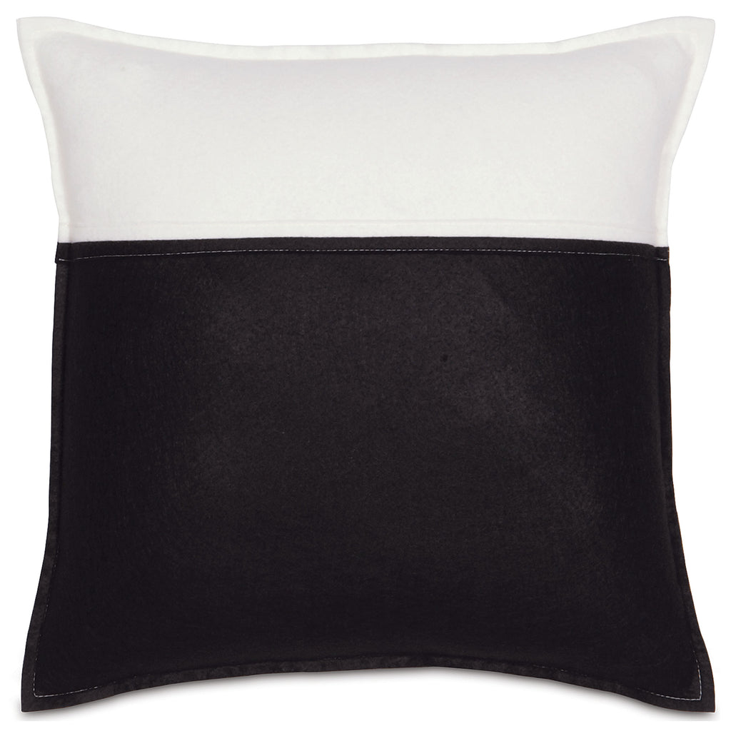 "Tuxedo Envelope Decorative Pillow Cover 18"" x 18"""
