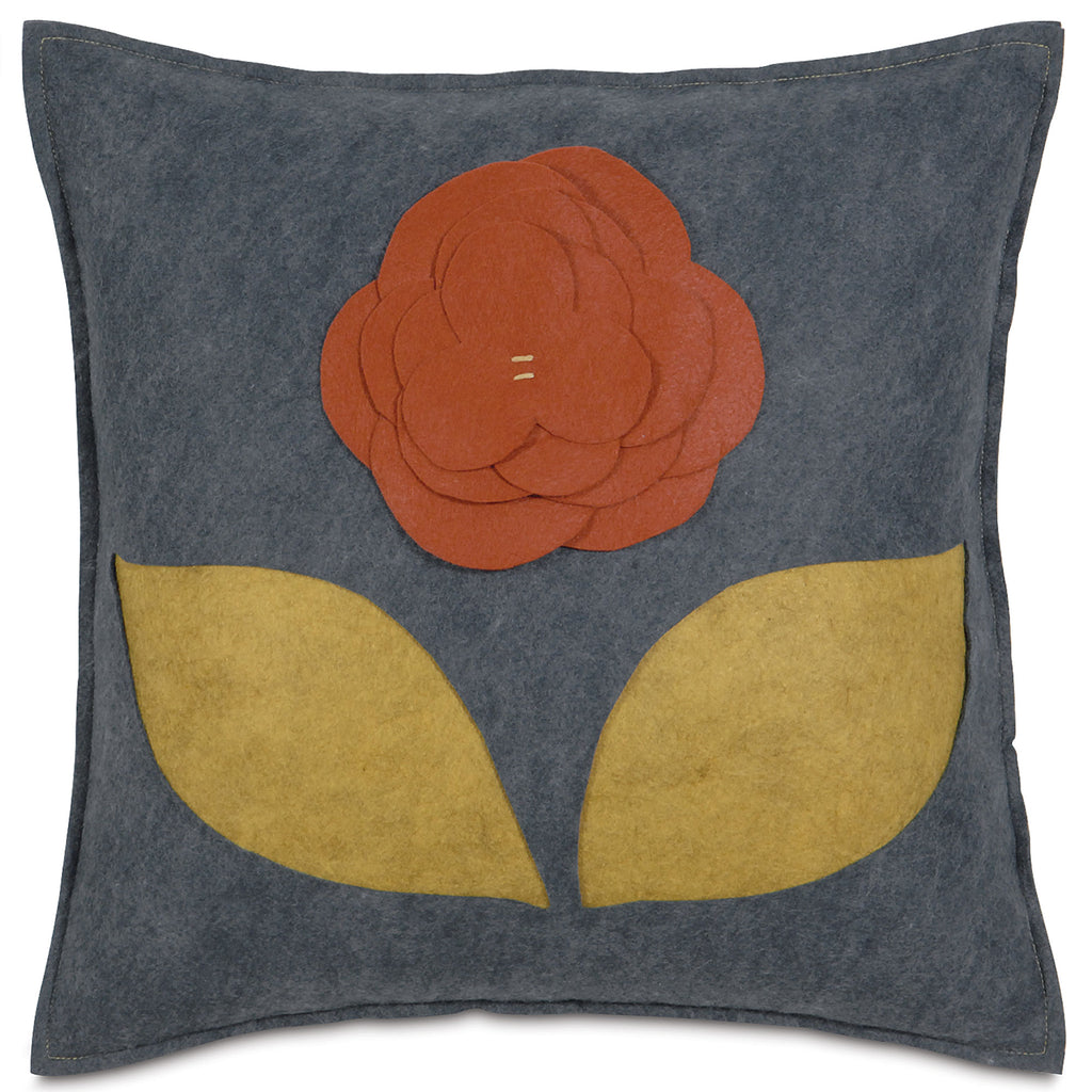 "Magnificence in Marigold Decorative Pillow Cover 18"" x 18"""