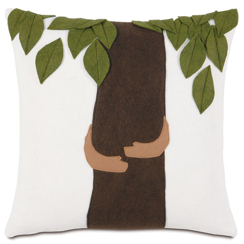 "Tree Hugger Decorative Pillow 16""x16"""