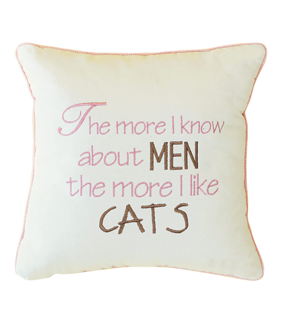 The more i know about men the more i like cats