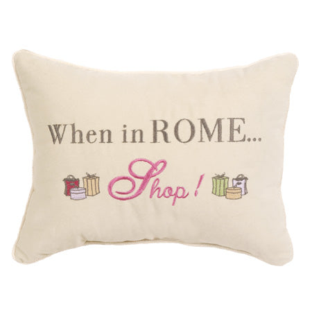 When in Rome…Shop!