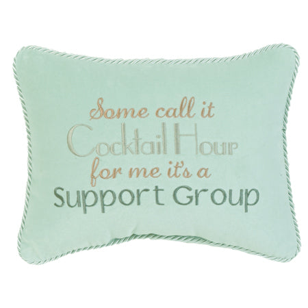 Some call it cocktail hour for me it's a support group