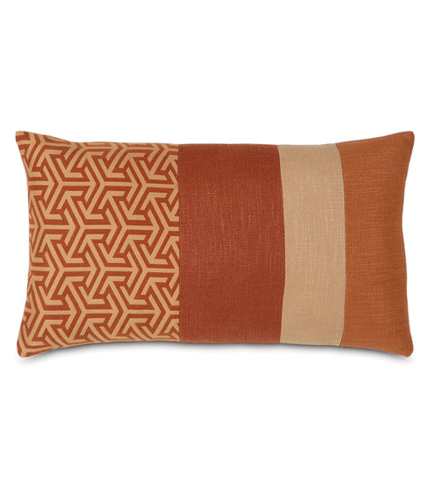 "Le Monde Graphic Accent Pillow Cover 13"" x 22"""