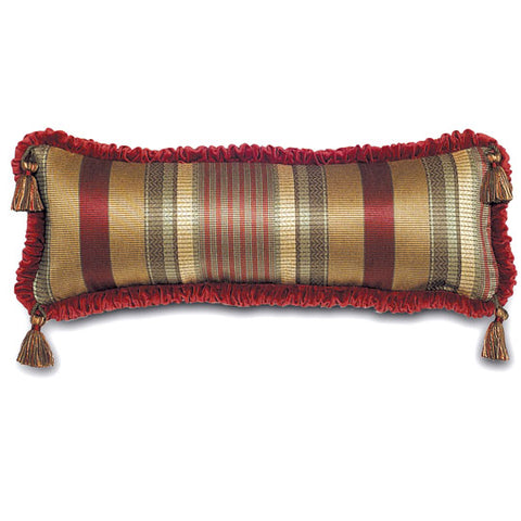 "Monticello Stripe Decorative Pillow Cover 10"" x 26"""