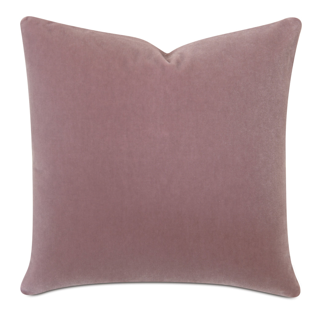 Blush Luxury Mohair Decorative Pillow Cover - Minstrel Rose