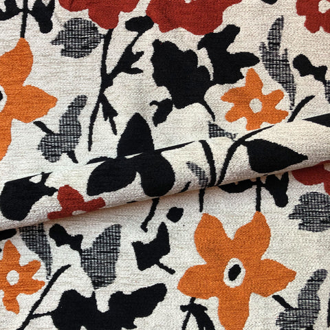 Country Floral Tapestry Weave Upholstery Fabric 54""