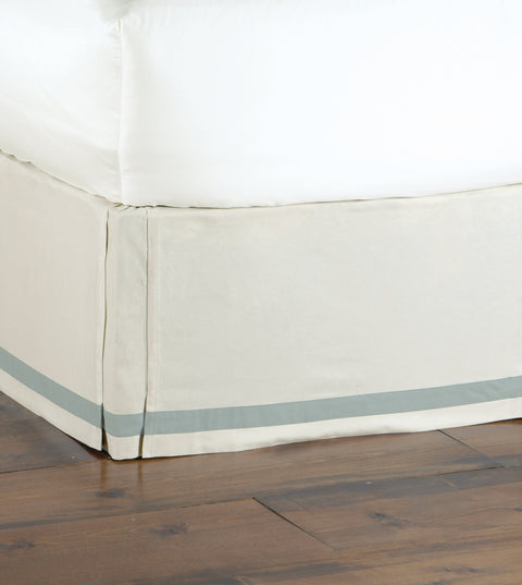 Vénus Ribbon Trim Bed Skirt (Queen 60x80)
