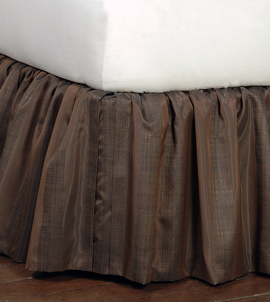 Perry Sienna Bed Skirt (Queen 60x80)