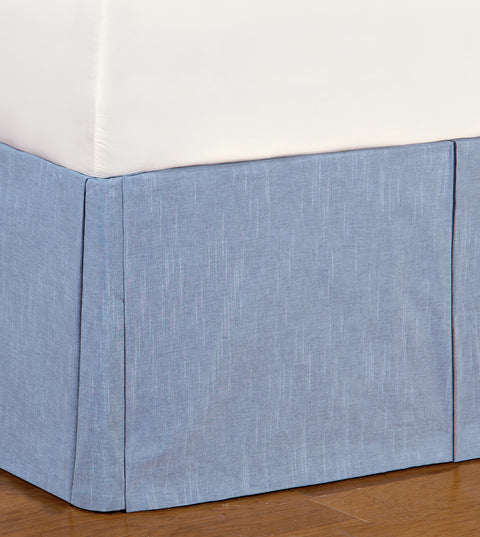 Epic Combat Blue Bed Skirt (Twin 39x75)
