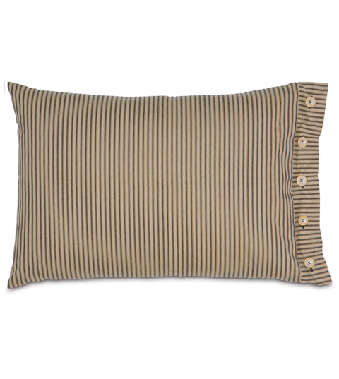 "Bailey Heirloom Standard Sham Cover in Pepper 20"" x 27"""