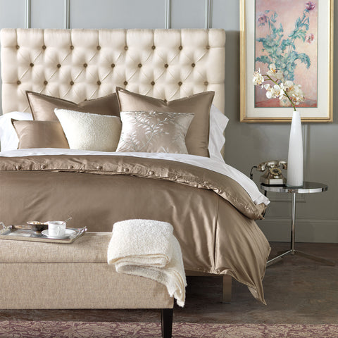 serico taupe duvet cover queen 88x90
