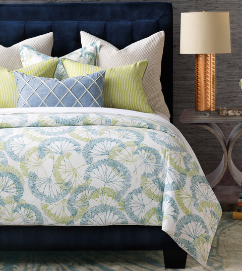 Brooke Floral Duvet Cover (Super Queen 96x98)