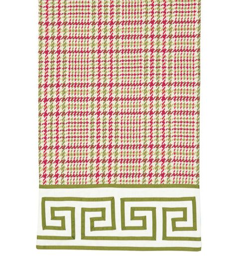 "Lavergne Plaid Table Runner 15"" x 72"""