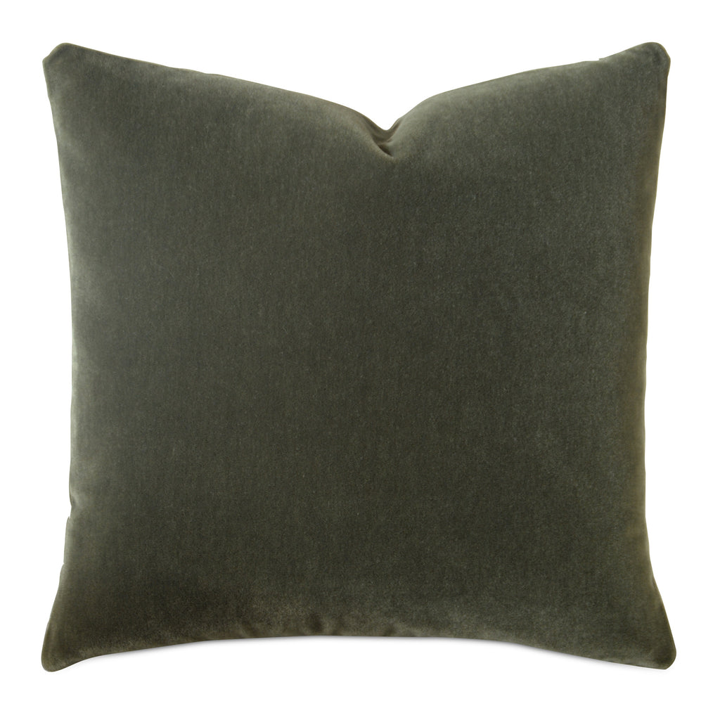 Forest Green Luxury Mohair Decorative Pillow - Terraine