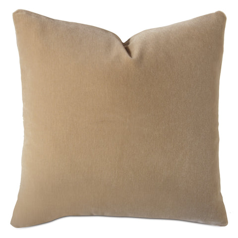 Beige Luxury Mohair Decorative Pillow- Torte