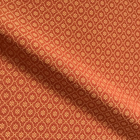 Luminous Scarlet Woven Upholstery Fabric - 54""