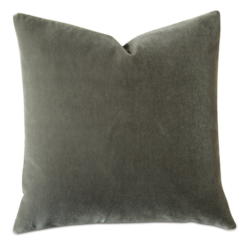Dried Thyme Luxury Mohair Decorative Pillow Cover - Wolf