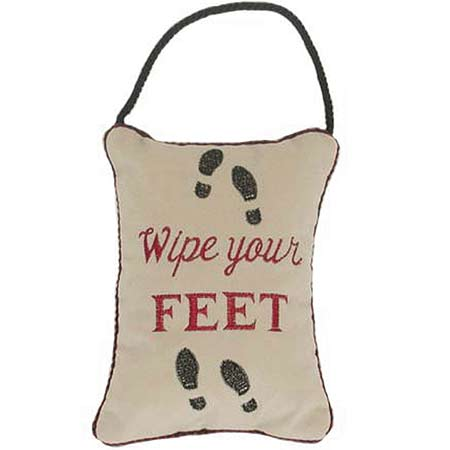 Wipe your Feet!
