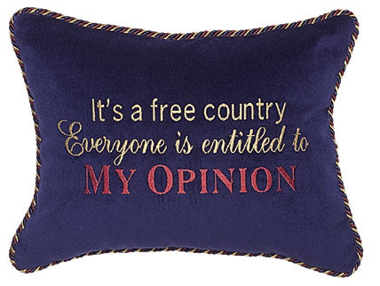 It's a free Country...