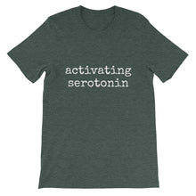 Activating Serotonin: Unisex short sleeve t-shirt