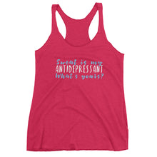Sweat is My AntiDepressant What's Yours? Women's tank top