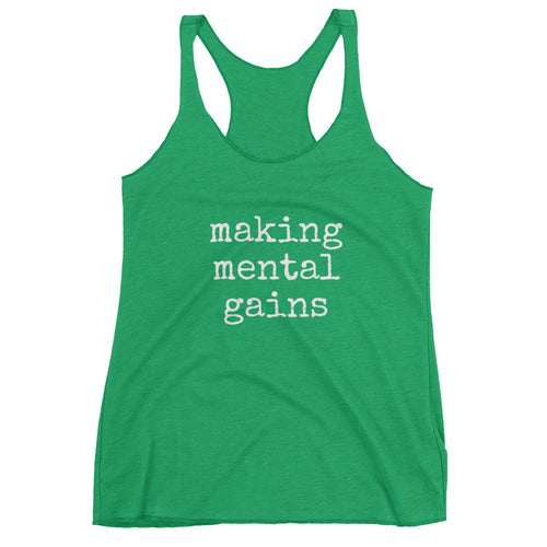 Making Mental Gains Women's tank top