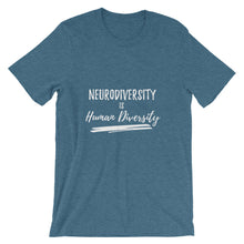 Neurodiversity is Human Diversity  short sleeve t-shirt