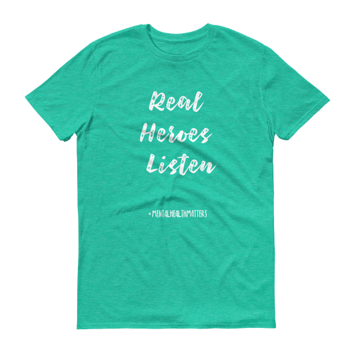 Real Heroes Listen Unisex T-Shirt