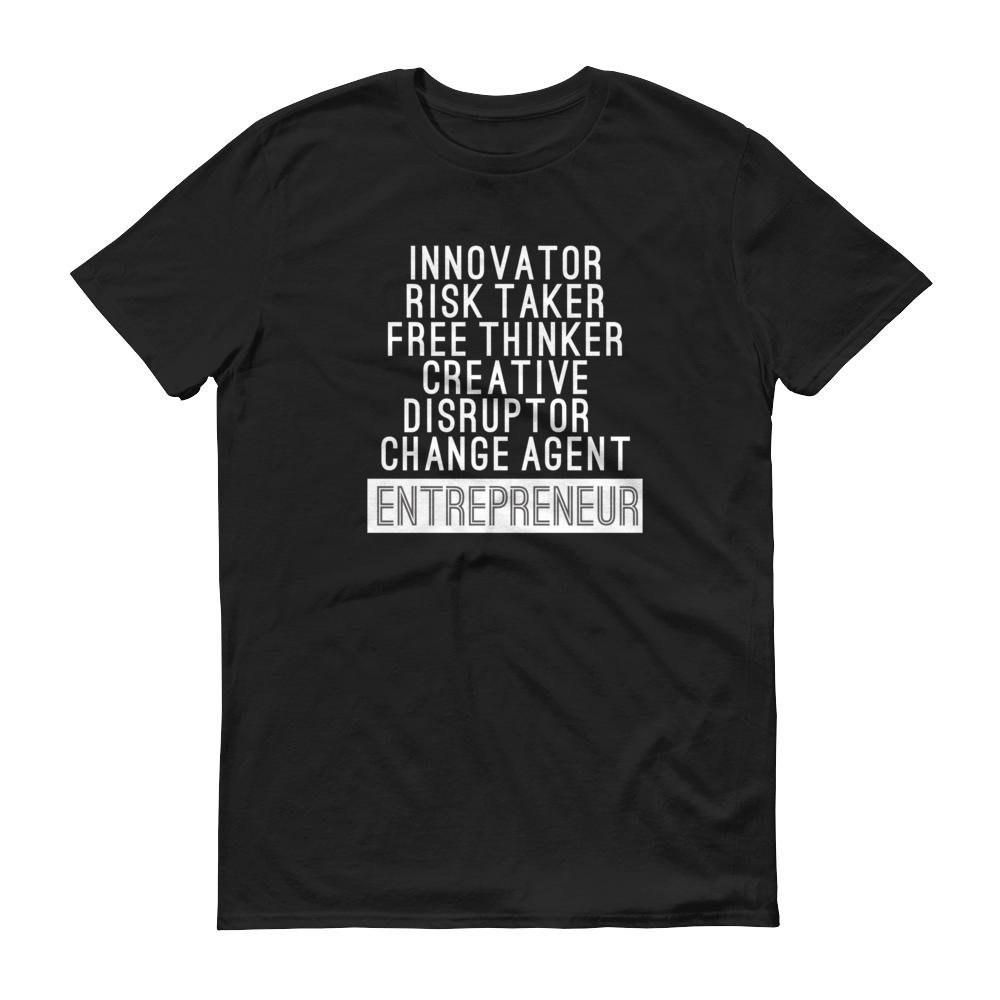 More Than An Entrepreneur Unisex Short sleeve t-shirt