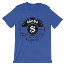 Are you a Proud Social Worker? Unisex short sleeve t-shirt