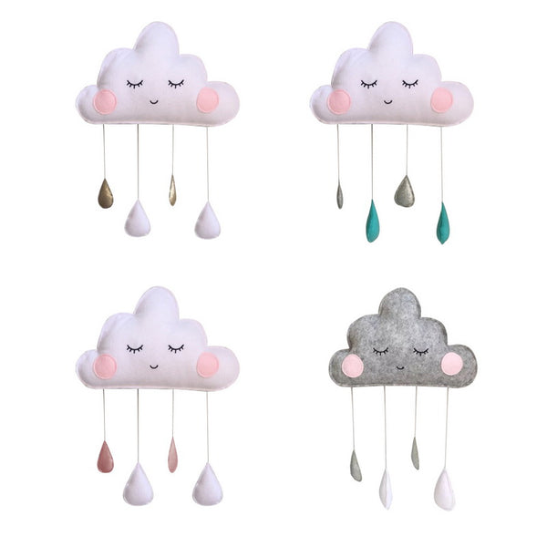 Adorable Clouds Raindrop Mobile