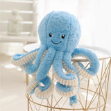 Dropshipping Cute Octopus Plush Toy Octopus Plushie Dolls & Stuffed Toys Peluche Sea Animal Toys For Children Kids Xmas Gifts