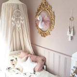 Golden Crown Swan Wall Hanging Decoration Flamingo Ballet tulle Doll Swan Stuffed Toys Animal Head Wall Decor Baby Room Gift