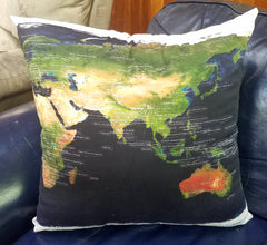 Throw Pillow - All Nations
