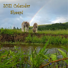 2021 Full Size Wall Calendar - Sheep