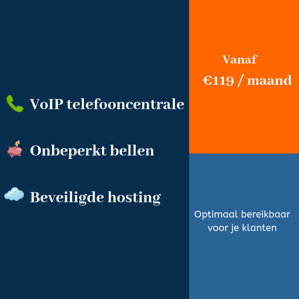 VoIP telefooncentrale in de cloud (PRO)