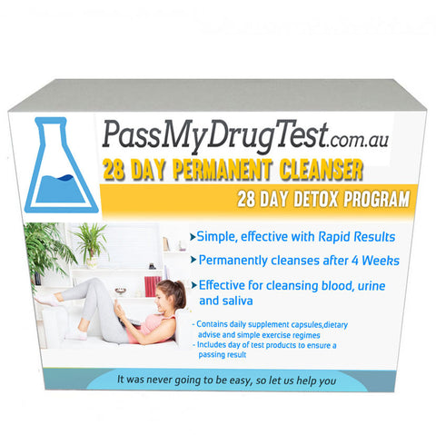 how to pass a urine test in australia