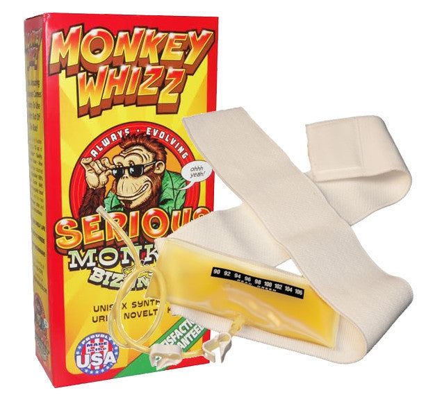 Monkey Whizz Synthetic Urine Dispenser