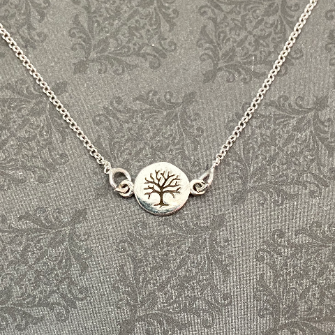 Dainty Family Tree necklace