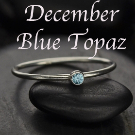 Stacking Birthstone Rings - Intro Priced