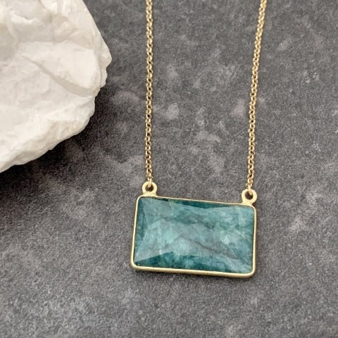 One-of-a-Kind Emerald Necklace
