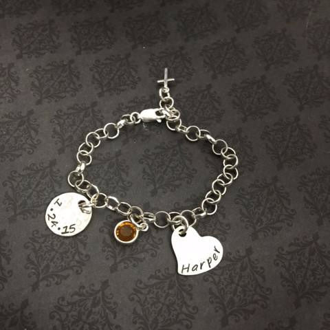 Faith Bracelet for Baptism - First Communion