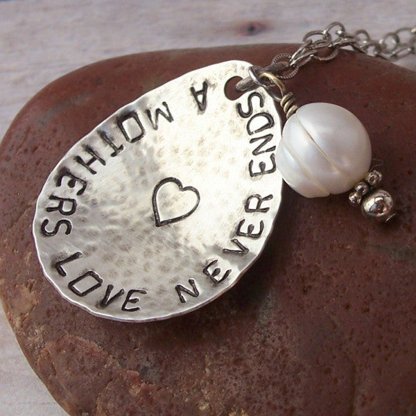Hand Stamped Mother's Love
