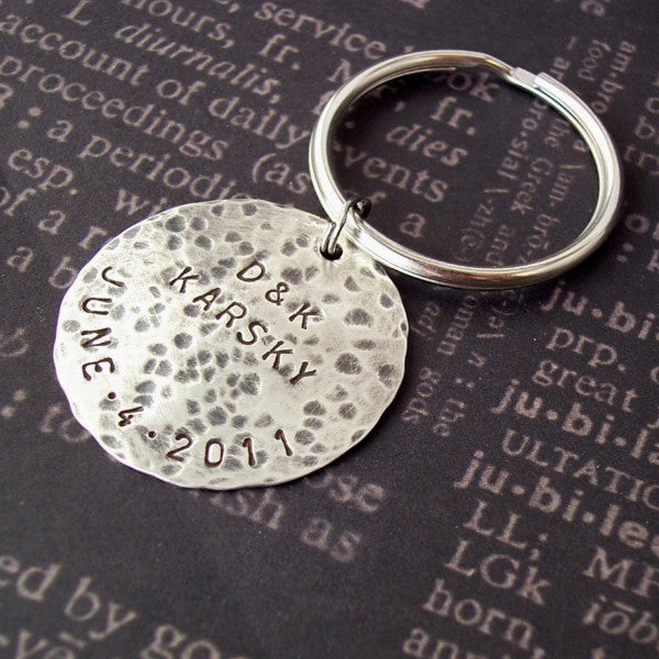 Large Disc Keychain