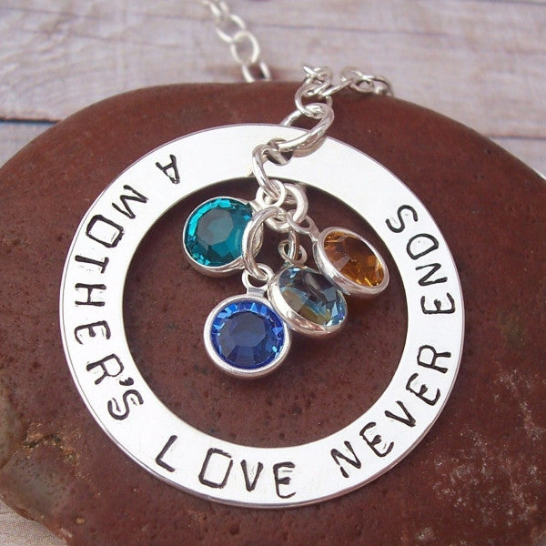 Medium Mother's Ring Necklace