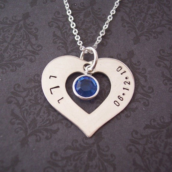 Heart Washer Necklace