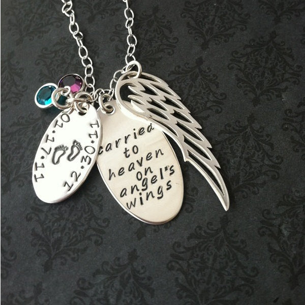 Loss of Loved One Angel Wing Necklace