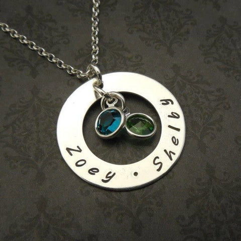 Small Mother's Ring Necklace