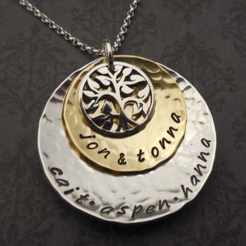 Family Blessings Necklace